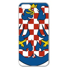 Moravia Coat of Arms  Apple Seamless iPhone 5 Case (Clear)