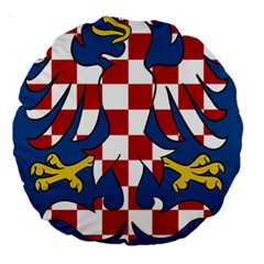 Moravia Coat of Arms  Large 18  Premium Round Cushions