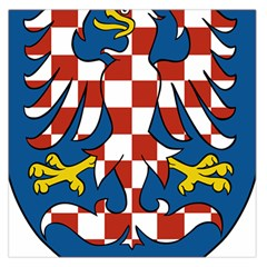 Moravia Coat Of Arms  Large Satin Scarf (square)