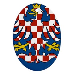 Moravia Coat of Arms  Ornament (Oval)