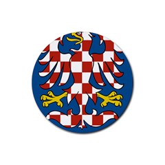 Moravia Coat of Arms  Rubber Coaster (Round)