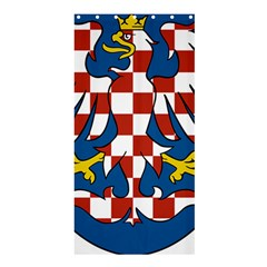 Moravia Coat of Arms  Shower Curtain 36  x 72  (Stall)