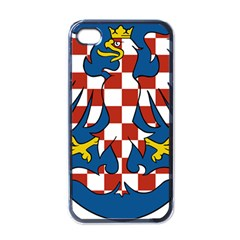 Moravia Coat of Arms  Apple iPhone 4 Case (Black)