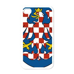 Moravia Coat of Arms  Apple iPhone 4 Case (White)