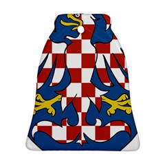Moravia Coat of Arms  Bell Ornament (Two Sides)