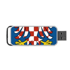 Moravia Coat of Arms  Portable USB Flash (One Side)