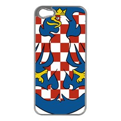 Moravia Coat of Arms  Apple iPhone 5 Case (Silver)