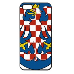 Moravia Coat of Arms  Apple iPhone 5 Seamless Case (Black)