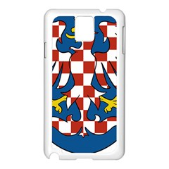 Moravia Coat of Arms  Samsung Galaxy Note 3 N9005 Case (White)