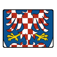 Moravia Coat of Arms  Double Sided Fleece Blanket (Small)