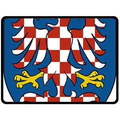 Moravia Coat Of Arms  Double Sided Fleece Blanket (large)