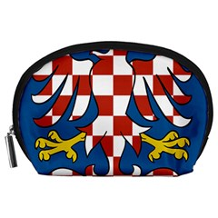 Moravia Coat of Arms  Accessory Pouches (Large)