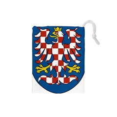 Moravia Coat of Arms  Drawstring Pouches (Small)