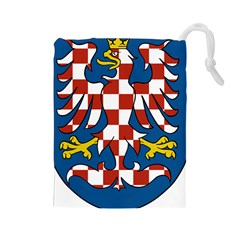 Moravia Coat of Arms  Drawstring Pouches (Large)