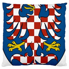 Moravia Coat of Arms  Large Flano Cushion Case (One Side)