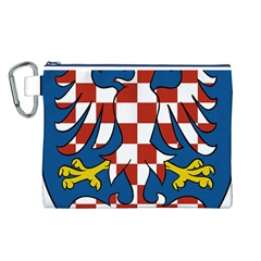 Moravia Coat of Arms  Canvas Cosmetic Bag (L)