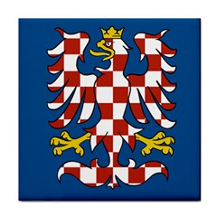 Flag of Moravia  Tile Coasters