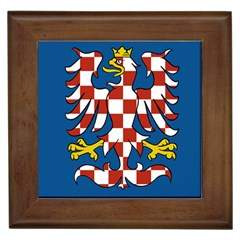 Flag of Moravia  Framed Tiles