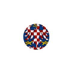 Flag of Moravia  1  Mini Buttons