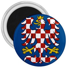 Flag of Moravia  3  Magnets