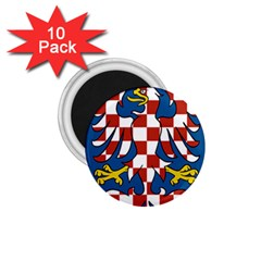 Flag of Moravia  1.75  Magnets (10 pack)