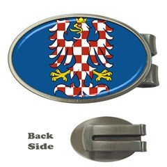 Flag of Moravia  Money Clips (Oval)