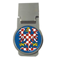 Flag of Moravia  Money Clips (Round)