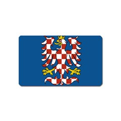 Flag of Moravia  Magnet (Name Card)