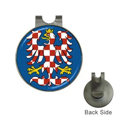 Flag of Moravia  Hat Clips with Golf Markers