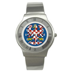 Flag of Moravia  Stainless Steel Watch
