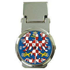 Flag of Moravia  Money Clip Watches