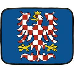 Flag of Moravia  Double Sided Fleece Blanket (Mini)
