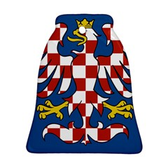 Flag of Moravia  Bell Ornament (Two Sides)