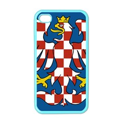 Flag Of Moravia  Apple Iphone 4 Case (color)