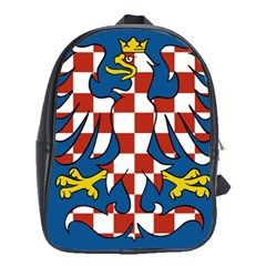 Flag of Moravia  School Bags (XL)