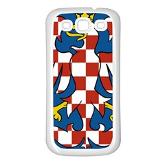 Flag of Moravia  Samsung Galaxy S3 Back Case (White)