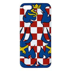 Flag of Moravia  iPhone 5S/ SE Premium Hardshell Case