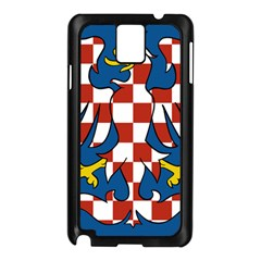 Flag of Moravia  Samsung Galaxy Note 3 N9005 Case (Black)