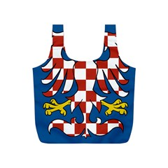 Flag of Moravia  Full Print Recycle Bags (S)