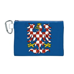 Flag of Moravia  Canvas Cosmetic Bag (M)