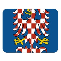 Flag of Moravia  Double Sided Flano Blanket (Large)