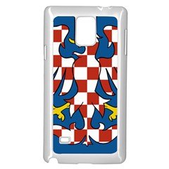 Flag of Moravia  Samsung Galaxy Note 4 Case (White)