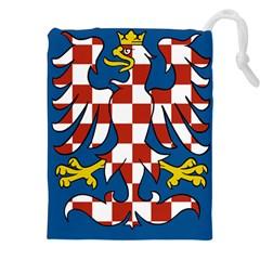 Flag of Moravia  Drawstring Pouches (XXL)