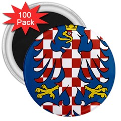 Flag of Moravia 3  Magnets (100 pack)