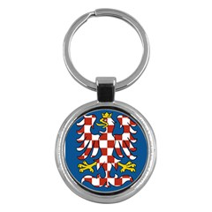 Flag of Moravia Key Chains (Round)