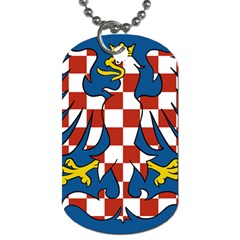 Flag of Moravia Dog Tag (Two Sides)