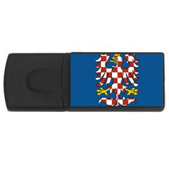 Flag of Moravia USB Flash Drive Rectangular (2 GB)