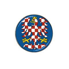 Flag of Moravia Hat Clip Ball Marker
