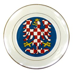 Flag of Moravia Porcelain Plates