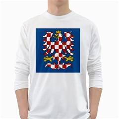 Flag of Moravia White Long Sleeve T-Shirts